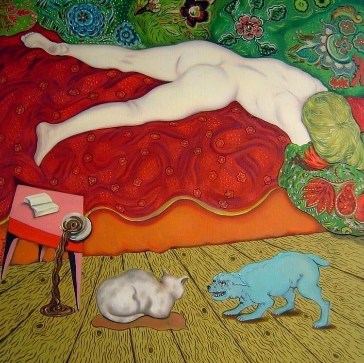 painting - nicolemanieu | ello