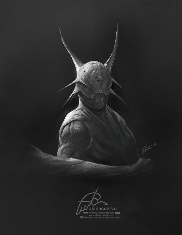Character design, inspired Jone - aladecuervo | ello