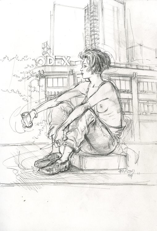 illustration, drawing, sketchbook - viet-3314 | ello