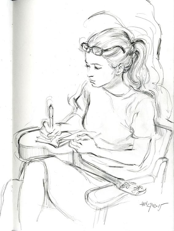 hnv, hoangnamviet, sketchbook - viet-3314 | ello