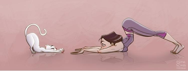 Yoga pose - ginarivas | ello