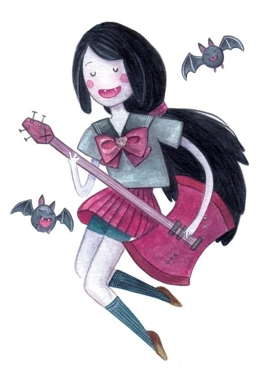 Marceline Watercolour 300gsm - marceline - hsieying | ello