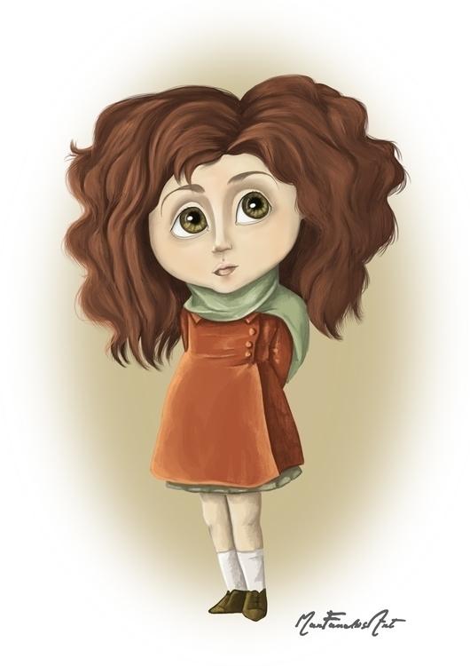 DAY 3 - Isabella tiny world - illustration - marfandosart | ello