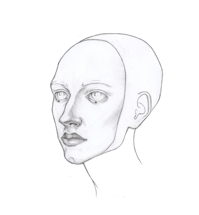 illustration, conceptart, portrait - shpadyreva | ello
