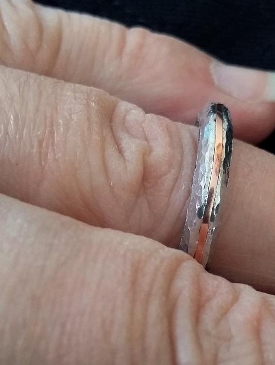aluminum ring copper inlay - jewelry - wolfgangschweizer   ello