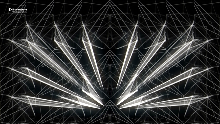 Blackframe VJ loops, Motion Vis - vjloops-8669 | ello