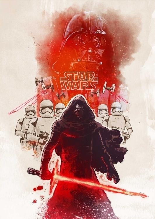 Legacy Vader - starwarstheforceawakens - michaelnelsen | ello
