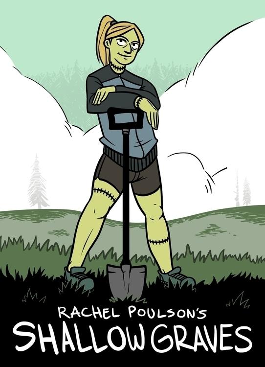 shallowgraves, comic, cover, zombie - rachelpoulson | ello