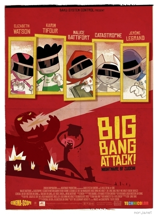 Big Bang Attack. Inspired japan - morja | ello
