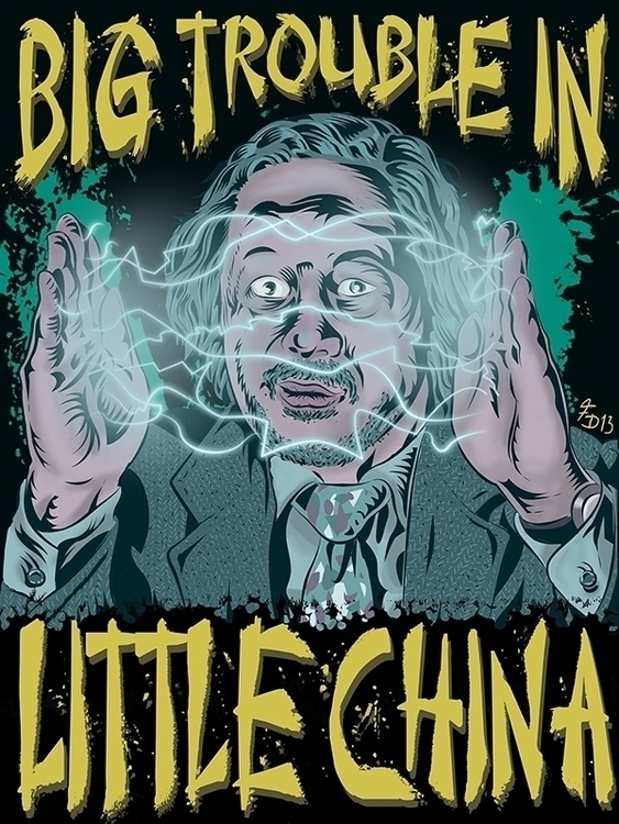 Big Trouble China - Art poster  - francescodibattista | ello