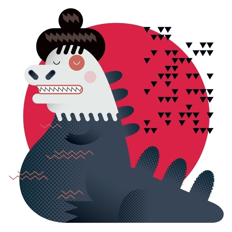 Godzilla Japan appointed citize - riccardopierassa | ello