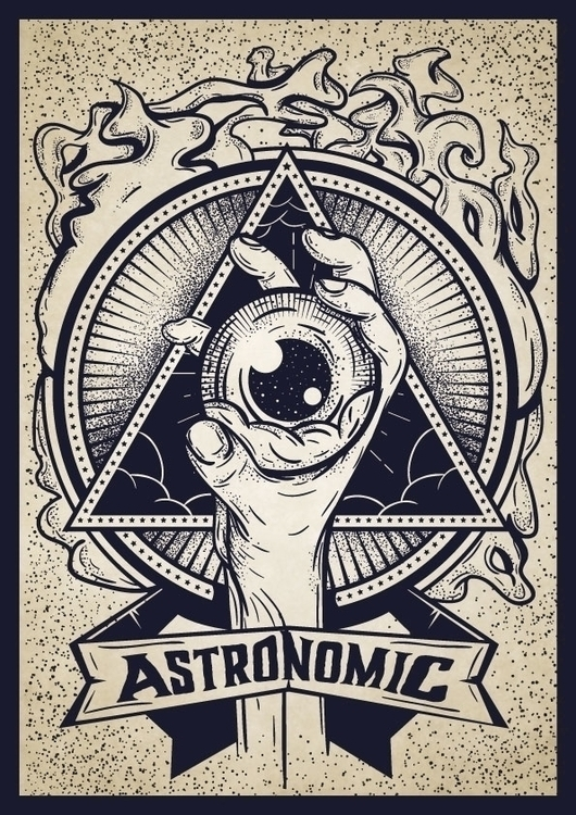 illustration, eye, illuminati - alexandru-9169 | ello