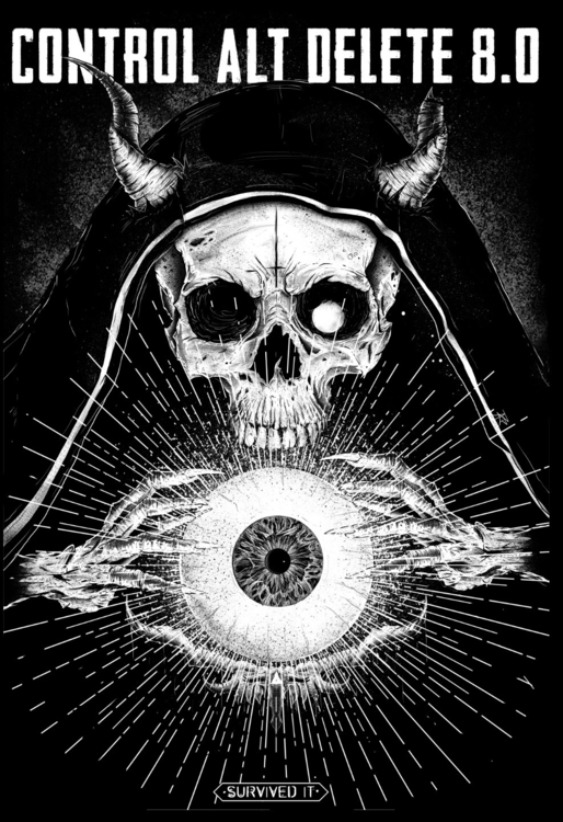 Necromancer - skull, sorcerer, eye - kidsquidy   ello
