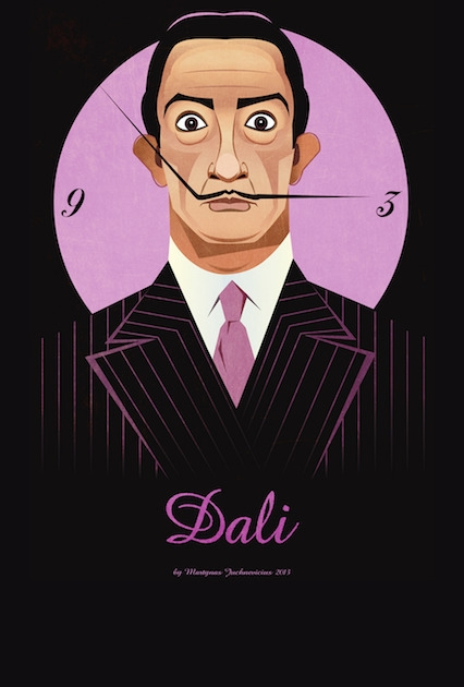 Dali - illustration, digitalart - marts-1415 | ello