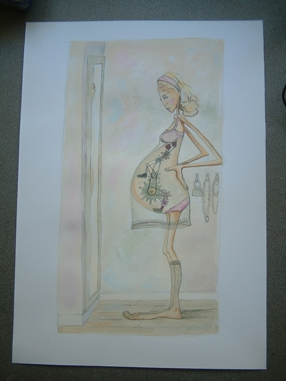 illustration, painting - carmen-9654 | ello