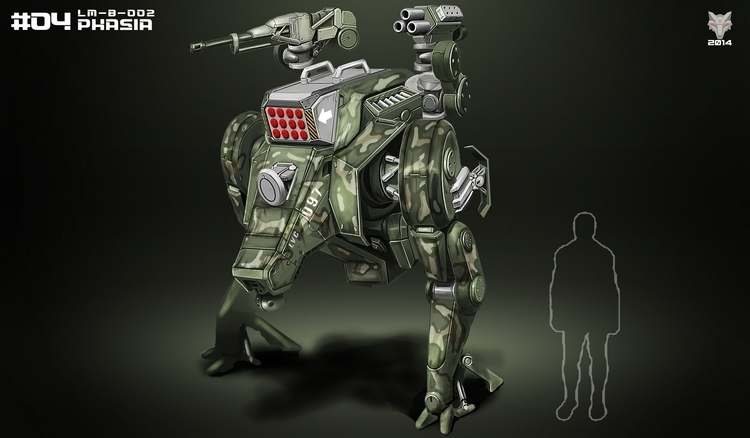 Mecha Weekly - 4, mecha, mech, machine - kakadede | ello