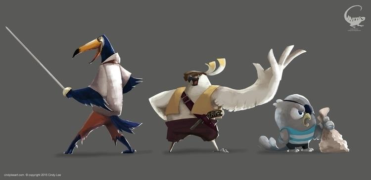 Pirate character design - characterdesign - cindyleeart | ello