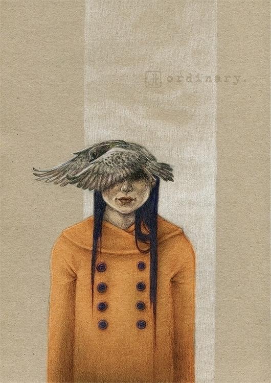 ordinary, pigeon, girl - checanty | ello