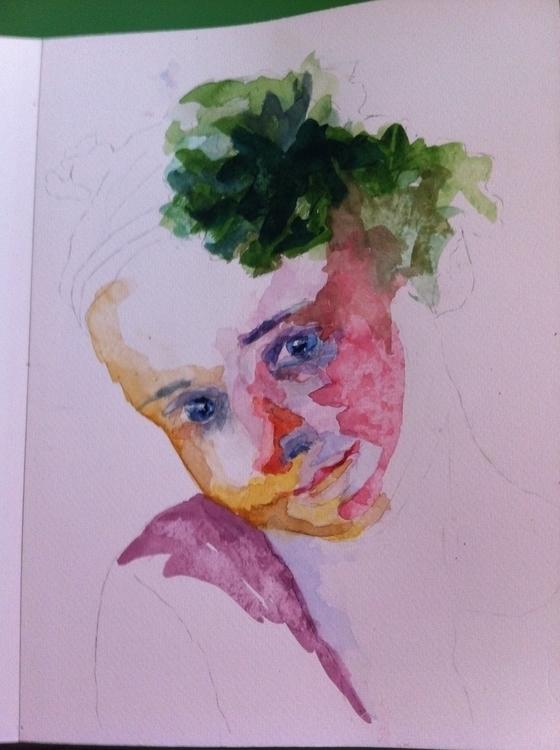 3, illustration, painting, portrait - valeagapi | ello
