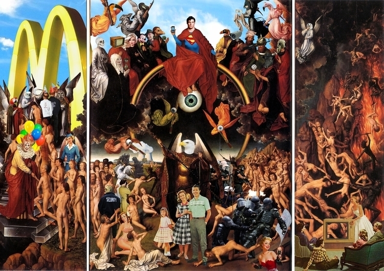 Judgment - collage, collageart, digitalcollage - stab-4591   ello