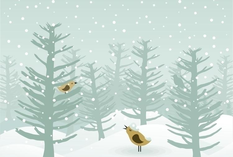 nature, bird - vector30 | ello