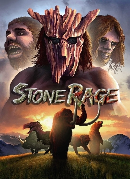 Cover art Stone Rage - illustration - albertovangelista | ello