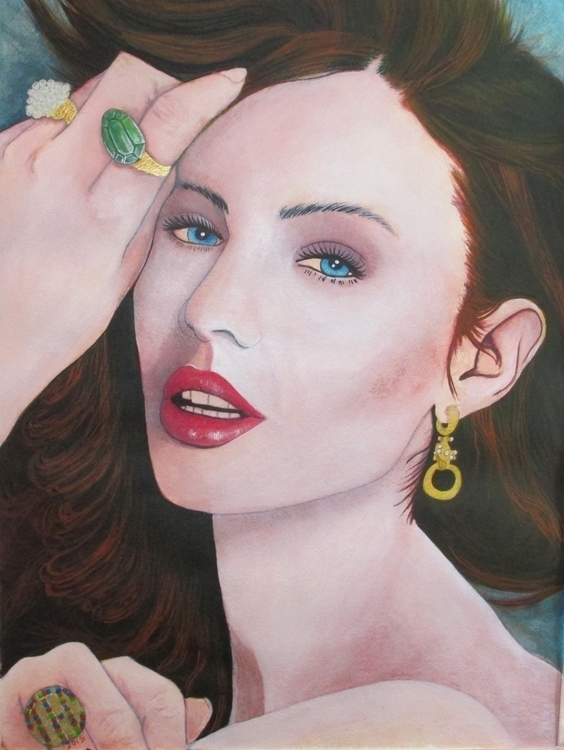 illustration, painting, fashion - thomasechapman | ello