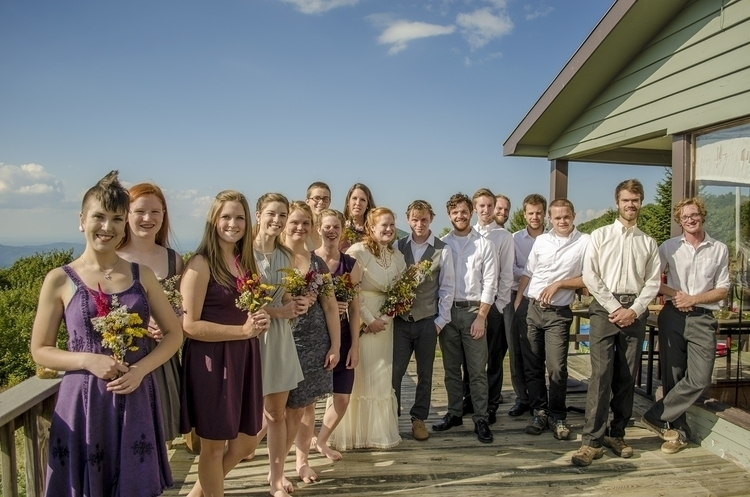 wedding Jim Maryl; party - bride - forestphoto | ello
