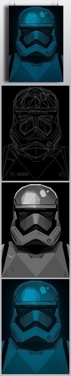 Star Wars Force Awakens corner - andreszen | ello