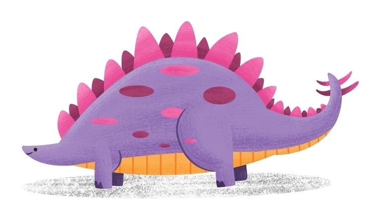 Steggo - James Loram - stegosaurus - jamesloram | ello