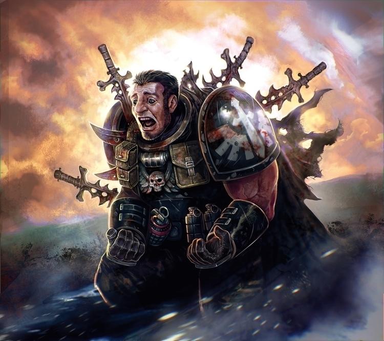 Warhammer 40K Conquest - Suffer - victorperezcorbella | ello