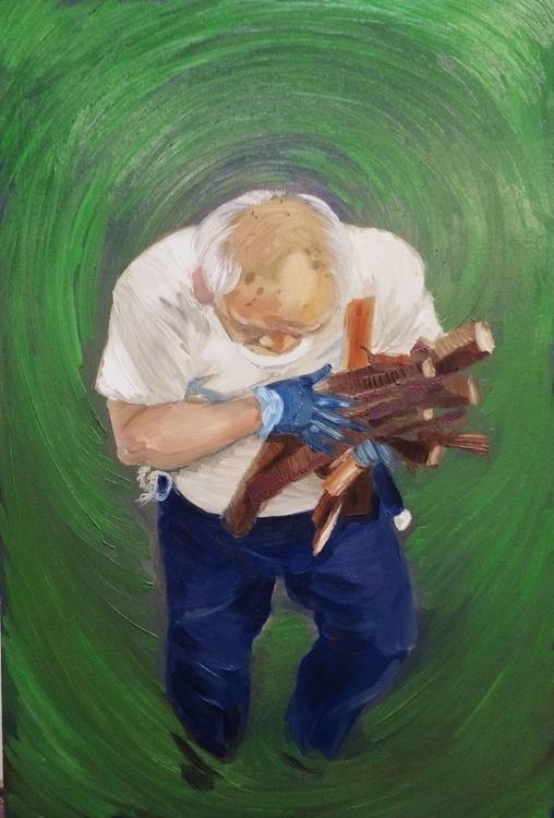 farm hanawa - painting, portraiture - tanakajpeg | ello