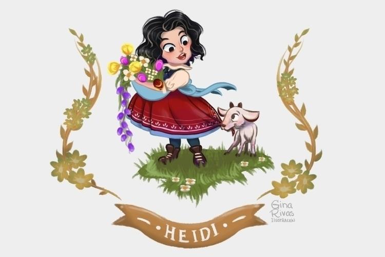 version Heidi Johanna Spyri - ginarivas | ello