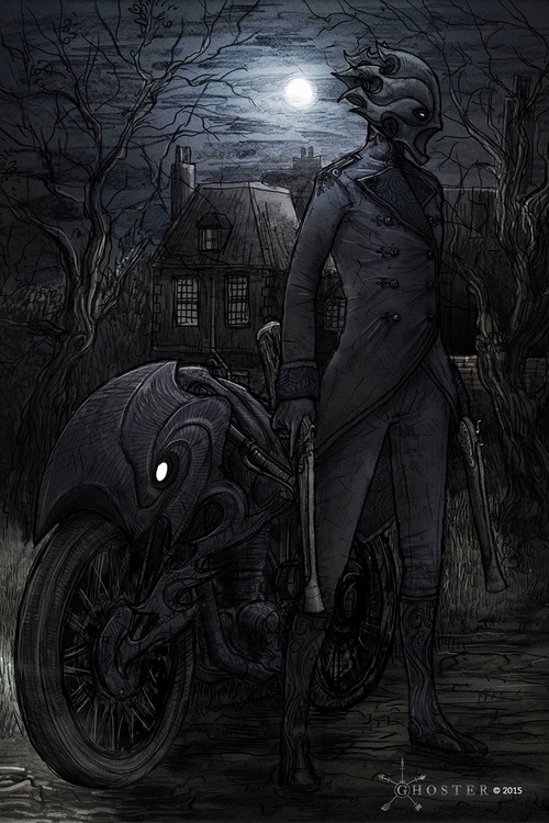 Ghoster concept art - Tallier T - joebecci | ello