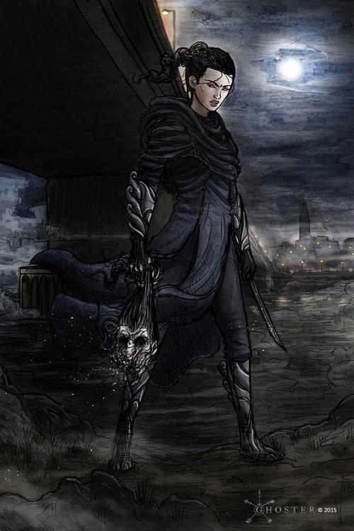 Ghoster concept art - Blackhand - joebecci | ello
