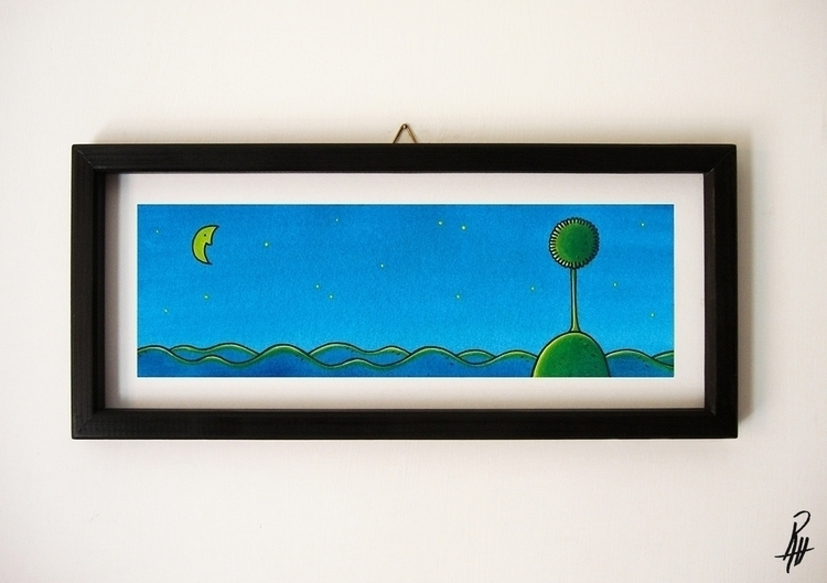 (handmade frame - illustration, picture - marcorizzi-1205 | ello