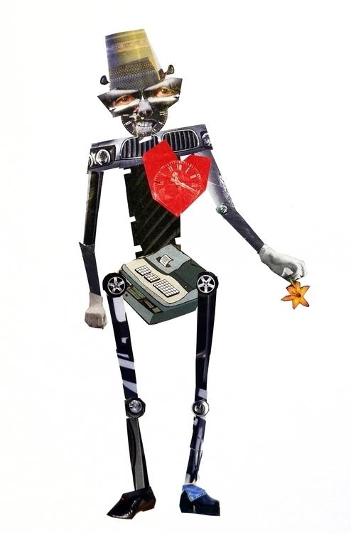 Iron Man - iron, man, heart, flower - odarkaluhihi | ello