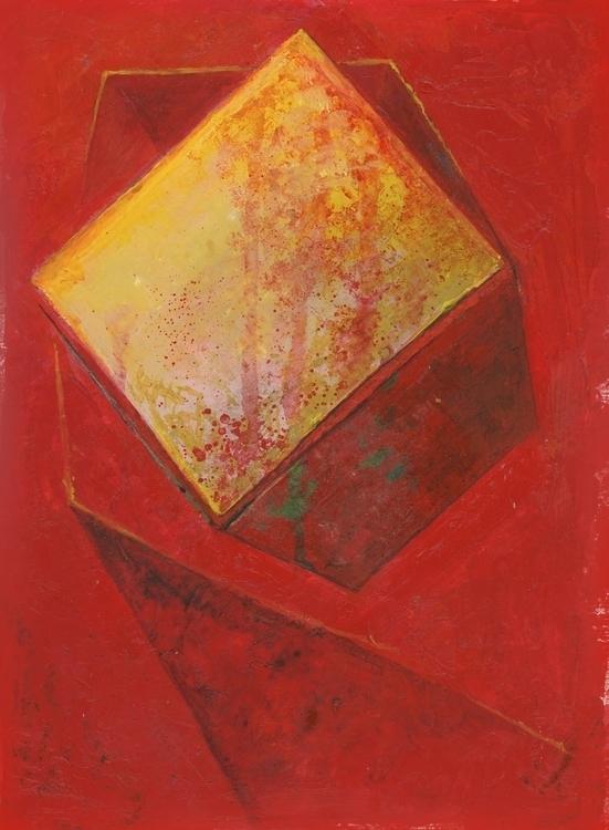 Beware Box. Watercolor, Acrylic - ztaft111 | ello