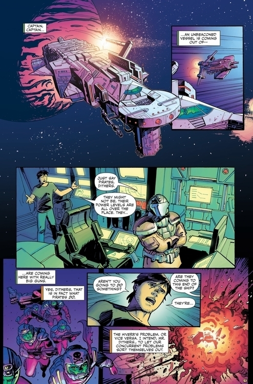 killjoy 1 - #spaceship#space#spaceman#comics#spacepirates - jovanukropina | ello