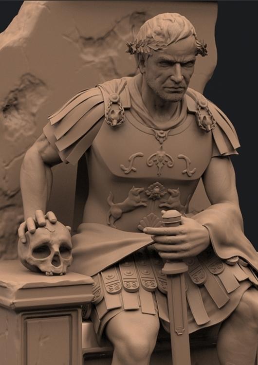 Romulus - characterdesign, characterart - duncan_foster | ello