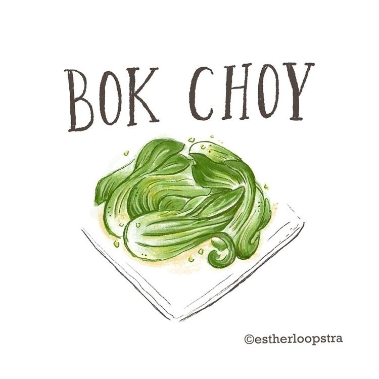 Bok Choy Illustration - bokchoy - estherloop | ello