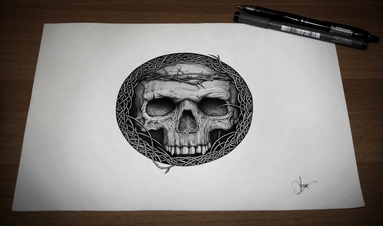 Confined - illustration, drawing - artsc0re   ello