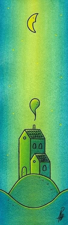Home - illustration, painting, watercolor - marcorizzi-1205 | ello