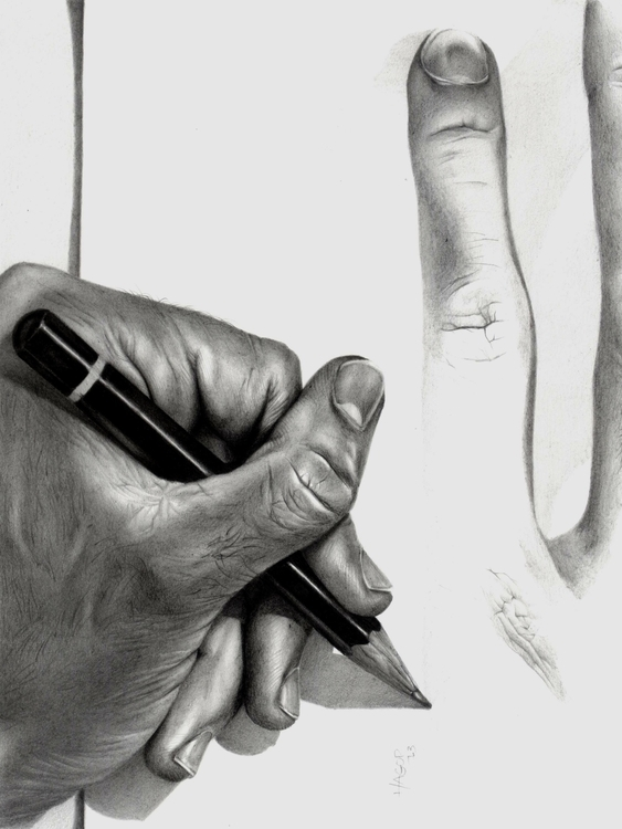 Echoes. Graphite Pencils. 2013 - hagop2404 | ello