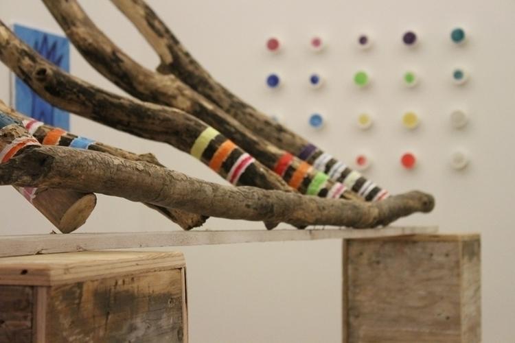 Sticks Codes - sculpture, fineart - mkbarr | ello