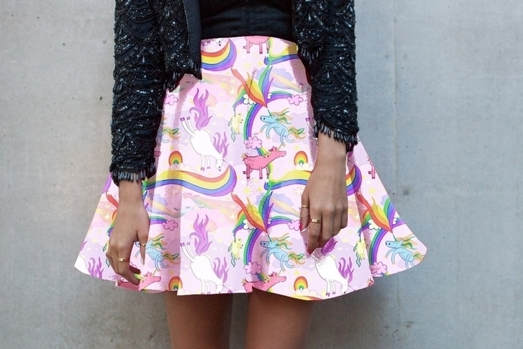 Unicorn Skirt Overlay Digital - unicorn - lgallantart | ello