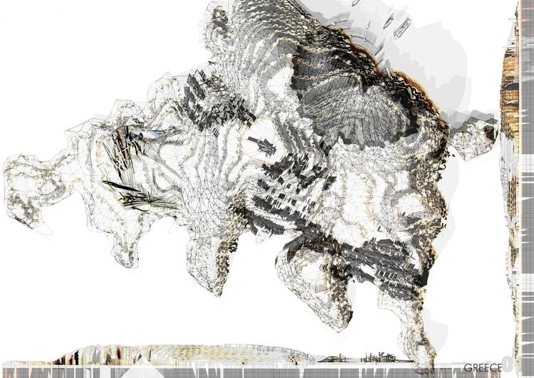 greece 01. Landart project dire - javier_cardiel | ello