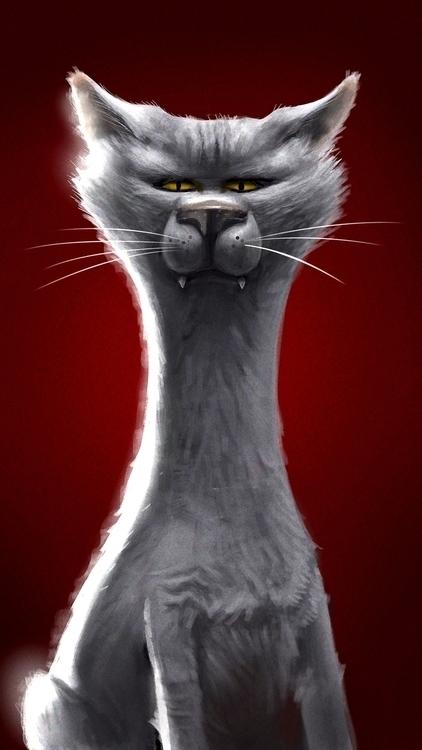 cat - characterdesign - igorkozhanov | ello
