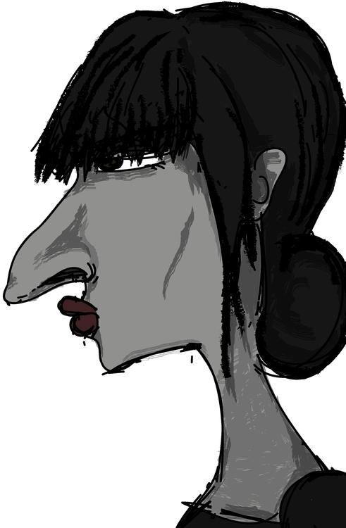 howk nose - christinapp | ello