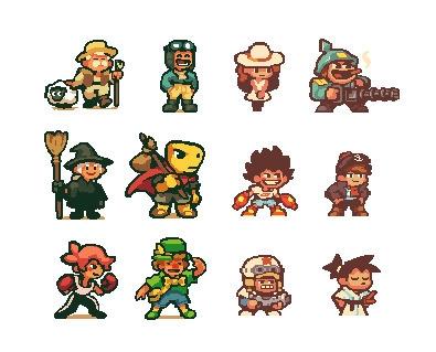 Random pixel chara design - pixelart - pixelboy-1587 | ello